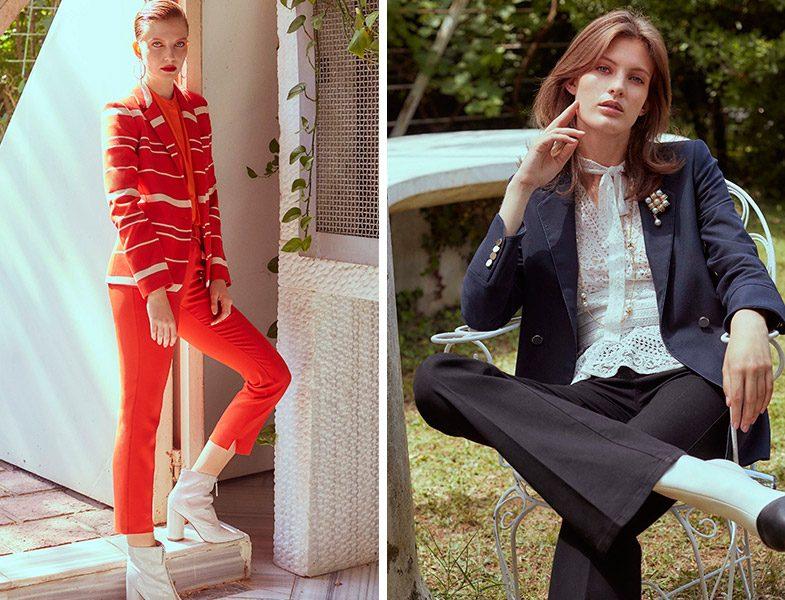 Ipekyol Sonbahar-Kış 2018-2019 Koleksiyonu Pantolon Ceket Modelleri