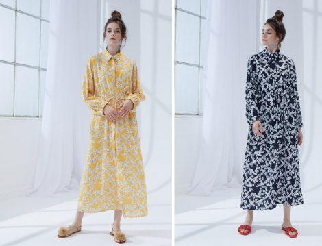 Kevser Sarıoğlu Çiçekli Elbise Modelleri