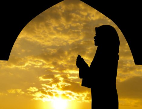 Müslüman Kadın ve Dua