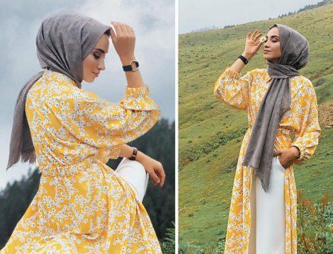Moda Kaşmir Gri Şal