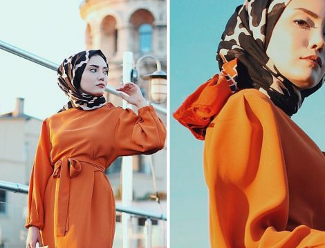Moda Kaşmir Pamuklu Şal Modelleri