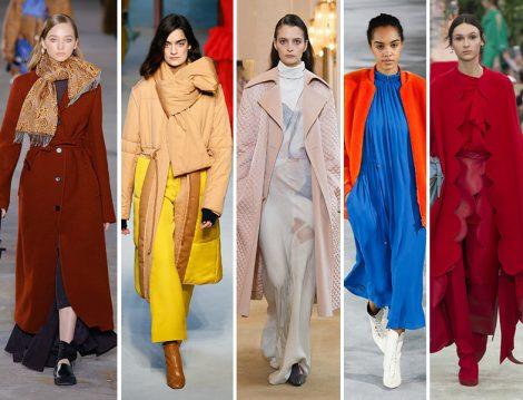 2018-2019 Sonbahar – Kış Sezonunun En 5 Popüler Rengi