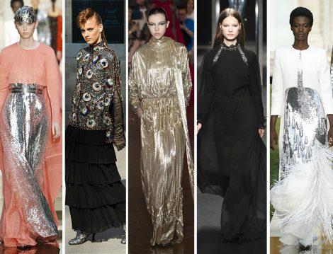 2018 Couture Koleksiyonlarından Davet Elbisesi Modelleri