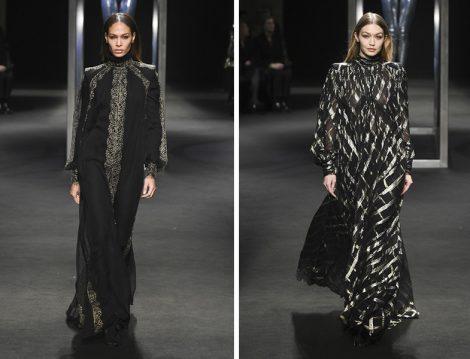 Alberta Ferretti 2018-19 Couture Koleksiyonu Siyah Davet Elbisesi Modelleri