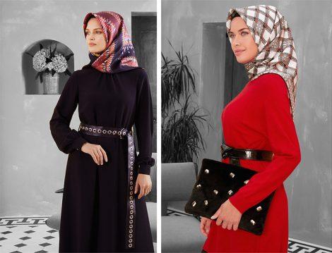 Armine 2018-19 Sonbahar Kış Elbise Modelleri