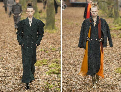 Chanel 2018-19 Sonbahar – Kış Manto ve Ceket Modelleri