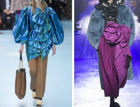 Dünya Modasında 2018 Sonbahar Kış Fırfır Trendi