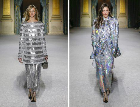 Dünya Modasında 2018 Sonbahar Kış Mekanik Renk Trendi
