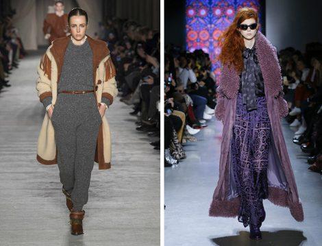 Dünya Modasında 2018 Sonbahar Kış Shearling Ceketler
