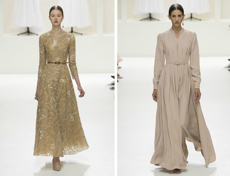 Dior 2018-19 Sonbahar – Kış Couture Davet Elbisesi Modelleri