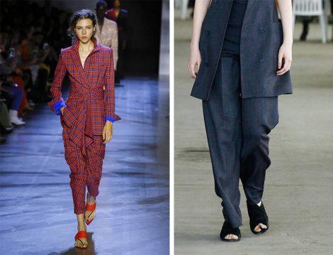Pantolon Ceket Takımların Altında Terlik Modası