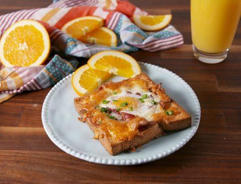 Peynirli Açık Tost Tarifi