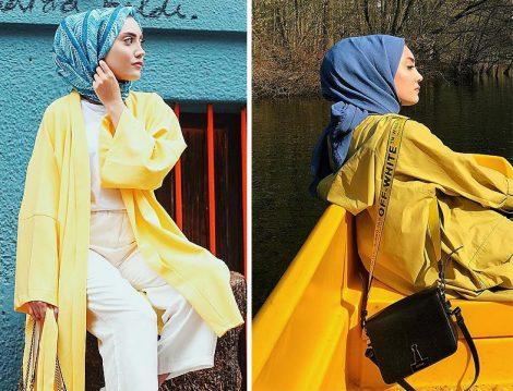 Rimel Aşkına Hilal'den Sarı Kombinler