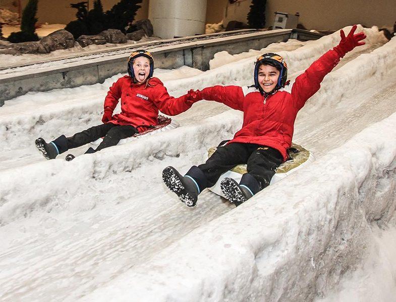 Torium AVM Snowparkta Kayak Keyfi