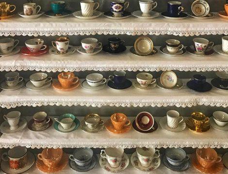 Velvet Cafe Vintage Kahve Fincanları