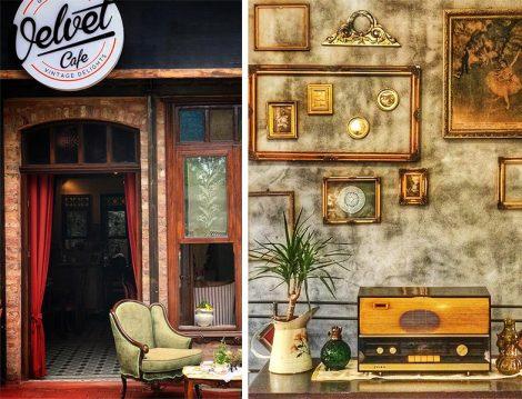 Velvet Cafe Nostaljik Obje ve Eşyalar