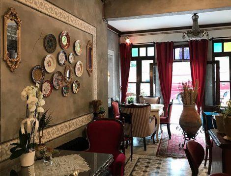 Velvet Cafe Vintage İç Mekan Dekorasyonu