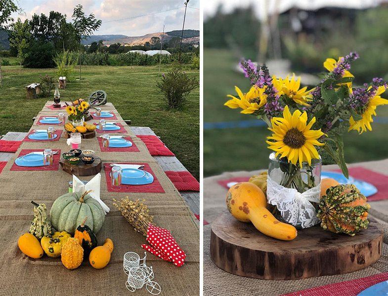 Çiftlikköy Organik Yaşam Köyü Doğal Ürünlerle Kahvaltı