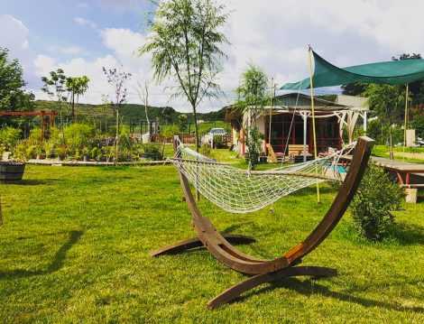 Çiftlikköy Organik Yaşam Köyü Hamak Keyfi