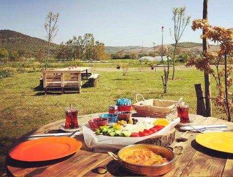 Çiftlikköy Organik Yaşam Köyü Kahvaltı