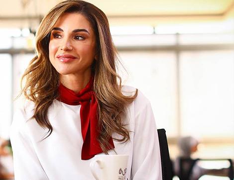 Ürdün Kraliçesi Rania Al Abdullah'ın Zarif ve Benzersiz Sonbahar Stili