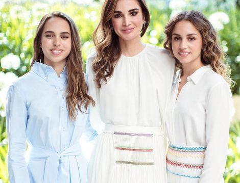 Ürdün Kraliçesi Rania al Abdullah ve Kızları