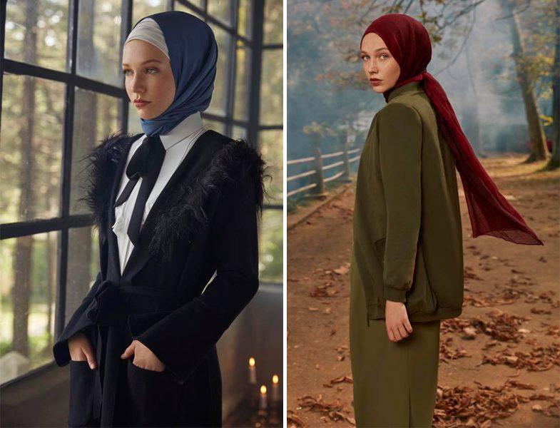 2019 Tesettür Dış Giyim Kombini