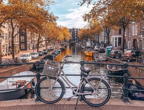 Amsterdam'da Sonbahar