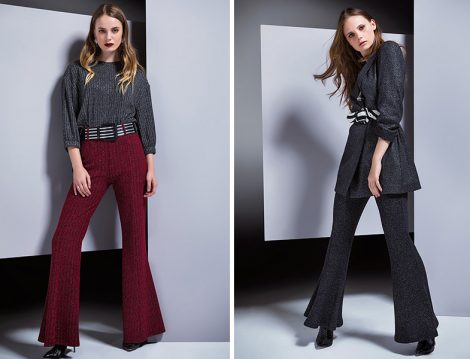 Berrin İstanbul 2018-19 İspanyol Paça Pantolon Modelleri