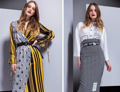Berrin İstanbul 2018-19 Desenli Elbise ve Etek Modelleri