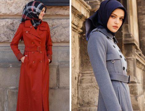 Doque İstanbul 2018 Tesettür Dış Giyim Modelleri