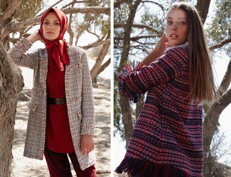 Kayra 2018-19 Sonbahar Kış Tüvit Ceket Modeli