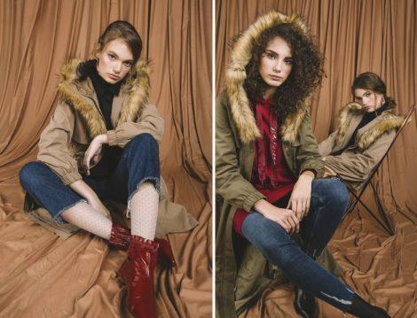 Vesna Desing 2018-19 Kürklü Palto Modelleri