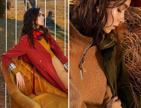 Vesna Desing 2018-19 Trençkot Modelleri