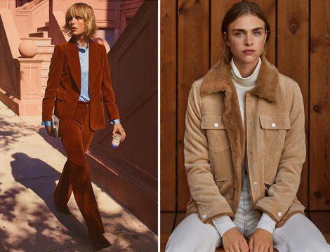 Zara Kadife Takım ve Mango Fitilli Kadife Ceket