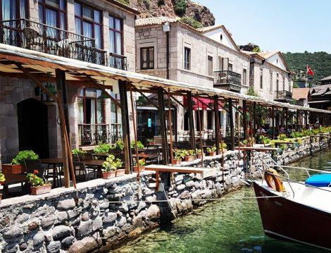 Assos Antik Liman Çanakkale
