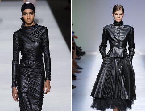 Dünya Markalarından Deri Elbiseler