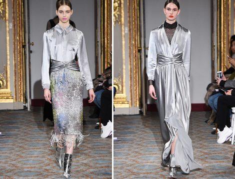 Huishan Zhang Metalik Giyim