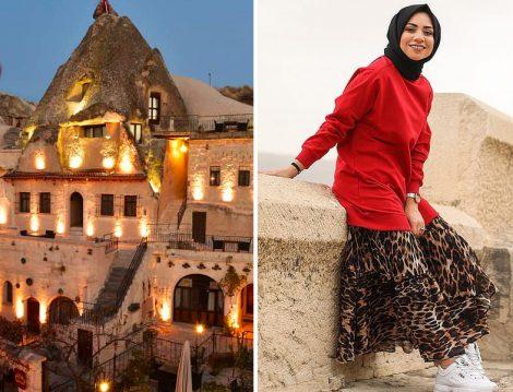 Kapadokya Gezisine Özel Sweatshirt Kombini