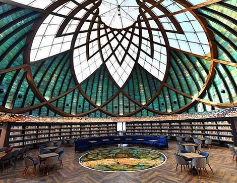 Göz Alıcı Mimarisi ile Kütüphane Anlayışına Farklı Bir Ufuk Kazandıran Yepyeni Bir Mekan: Nevmekan Sahil