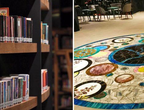 Nevmekan Sahil'in Kütüphane ve İç Mimarisi