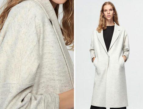 Pure Giyim Gri Palto