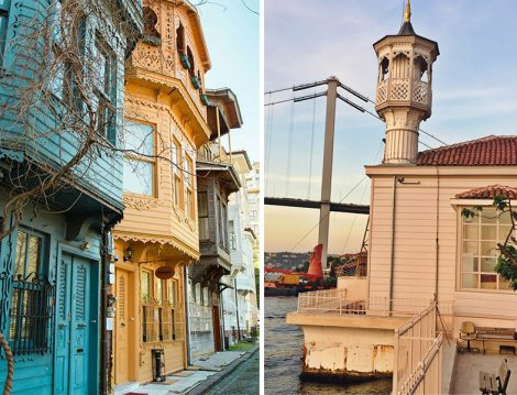 Tarihi Kuzguncuk Evleri ve Üryanizade Ahmet Esat Efendi Cami
