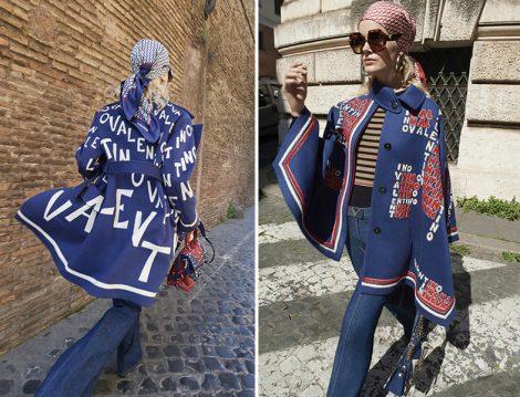 Valentino Yağmurluk ve Pelerin Modelleri