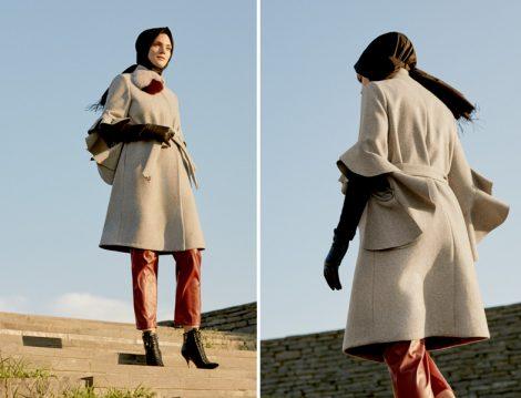 Zühre Pelerin Palto