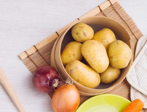 Çökertme Kebabı İçin Patates