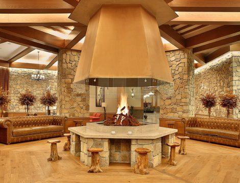 BOF Hotels Uludağ Ski & Conv. Resort Şömine