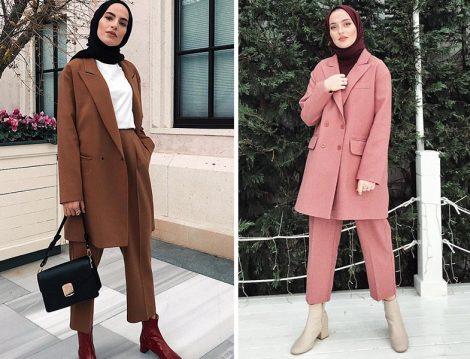 Bayan Pantolon Ceket Takım Modelleri