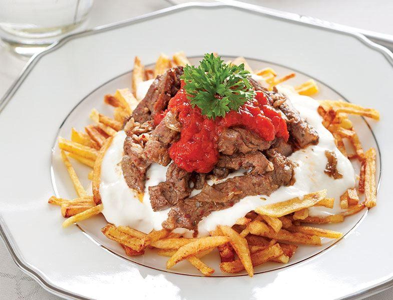 Etli Çökertme Kebabı