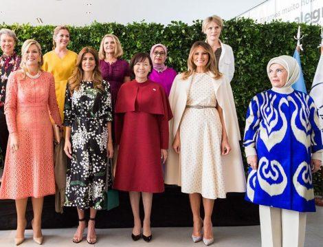 G20 Zirvesi First Lady'lerin Giyim Stilleri